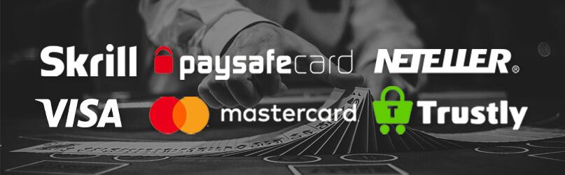Betalnings loggor casino online