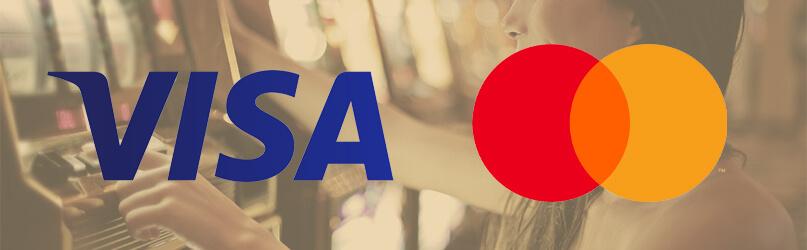 Visa Mastercard betalning casino online